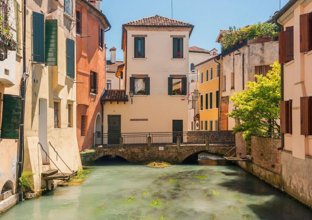 Uno dei canali di Treviso.